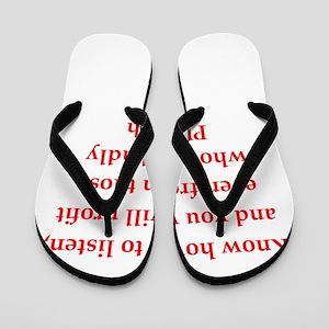 Plutarch quote Flip Flops
