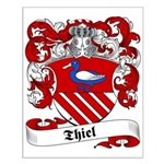 Thiel Family Crest Small Poster