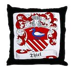 Thiel Family Crest Throw Pillow