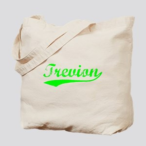 Vintage Trevion (Green) Tote Bag