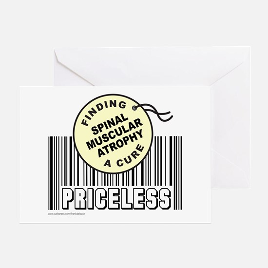 SPINAL MUSCULAR ATROPHY FIND A CURE Greeting Card