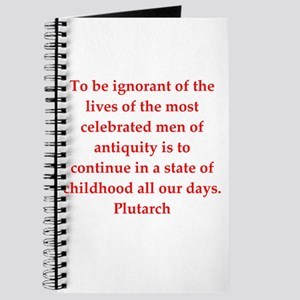 Plutarch quote Journal