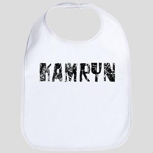 Kamryn Faded (Black) Bib