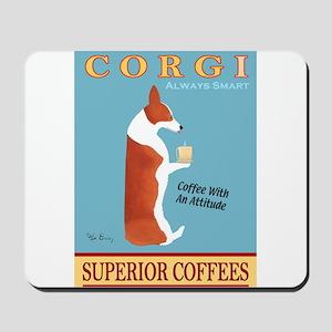 Corgi Superior Coffees Mousepad