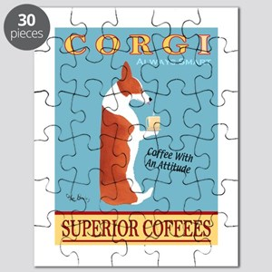 Corgi Superior Coffees Puzzle