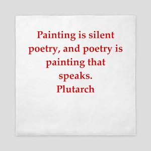 Plutarch quote Queen Duvet
