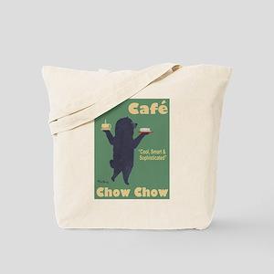 Café Chow Chow Tote Bag