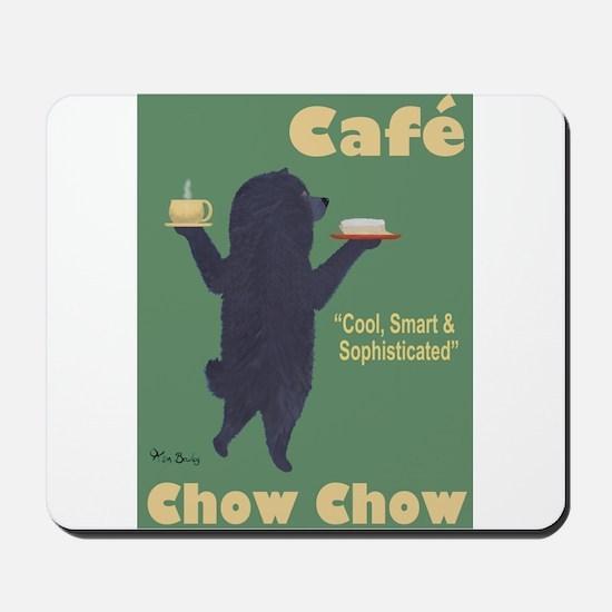 Café Chow Chow Mousepad