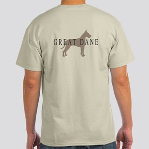 great dane greytones Light T-Shirt