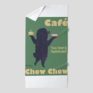 Café Chow Chow Beach Towel