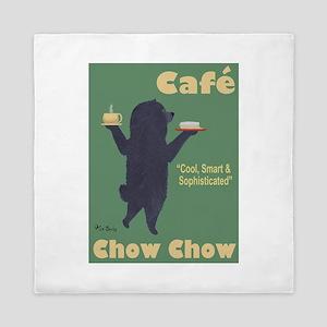 Café Chow Chow Queen Duvet