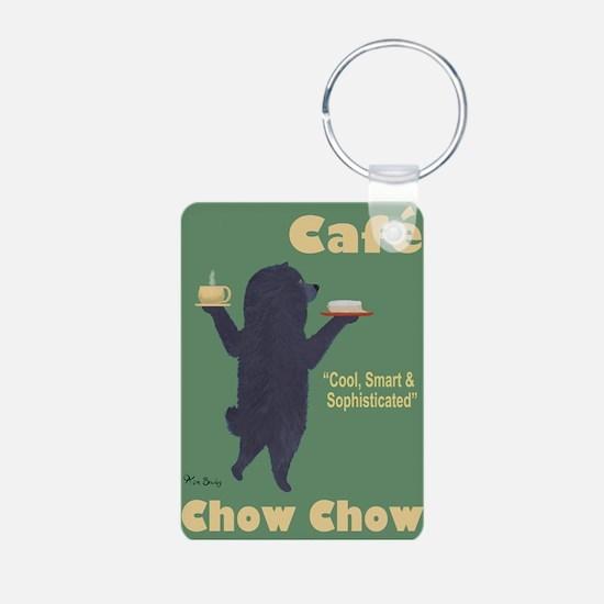 Café Chow Chow Keychains