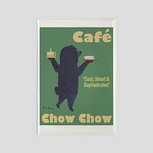 Café Chow Chow Rectangle Magnet