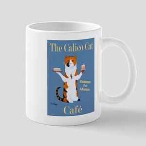 Calico Cat Café Mug