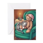 Miss B and Teddy Greeting Cards (Pk of 10)
