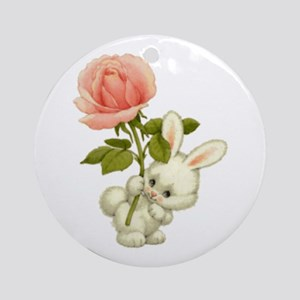 A Rose for Easter Ornament (Round)