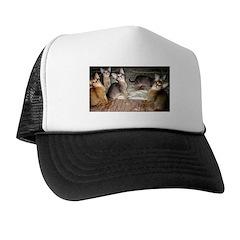 Cute Aby Kittens Trucker Hat
