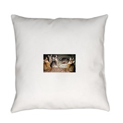Cute Aby Kittens Everyday Pillow