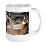Cute Aby Kittens Mugs