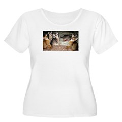 Cute Aby Kittens Plus Size T-Shirt