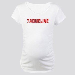 Jaqueline Faded (Red) Maternity T-Shirt