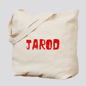 Jarod Faded (Red) Tote Bag