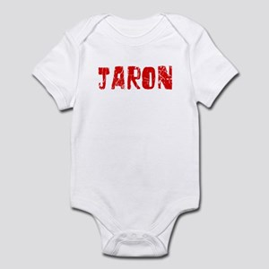 Jaron Faded (Red) Infant Bodysuit