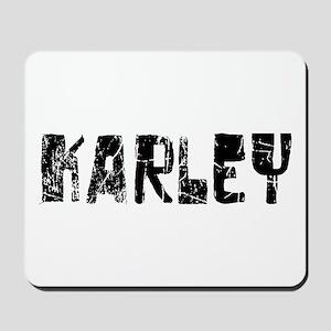 Karley Faded (Black) Mousepad