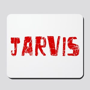 Jarvis Faded (Red) Mousepad