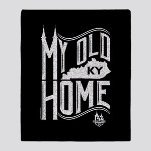 MY Old KY Home Throw Blanket