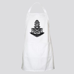 PM Square and Compass No. 1 BBQ Apron