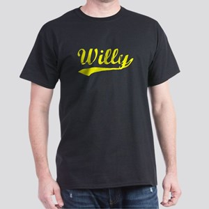 Vintage Willy (Gold) Dark T-Shirt