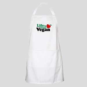 Life is Better Vegan BBQ Apron