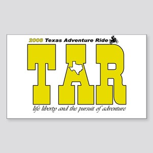 Texas Adventure Rectangle Sticker