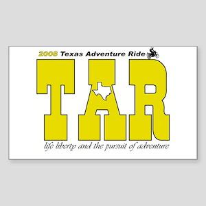 Texas Adventure Rectangle Sticker