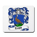 Trapp Family Crest Mousepad