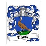 Trapp Family Crest Small Poster