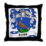 Trapp Family Crest Throw Pillow