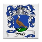 Trapp Family Crest Tile Coaster