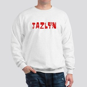 Jazlyn Faded (Red) Sweatshirt