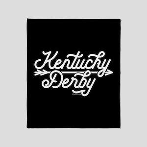 KY Derby Throw Blanket
