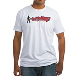 ghettoManga Fitted T-Shirt