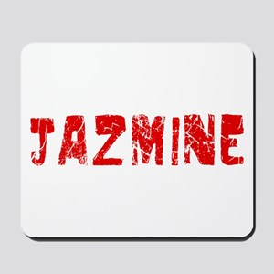 Jazmine Faded (Red) Mousepad