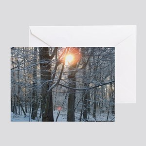 Snowy Sunrise Greeting Cards (Pk of 10)