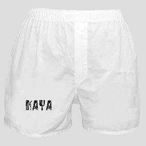 Kaya Faded (Black) Boxer Shorts