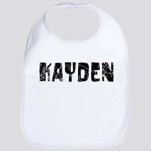 Kayden Faded (Black) Bib