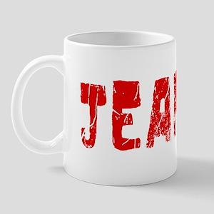 Jeanine Faded (Red) Mug