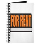 For Rent Sign Journal