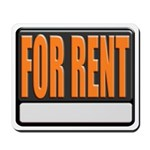 For Rent Sign Mousepad