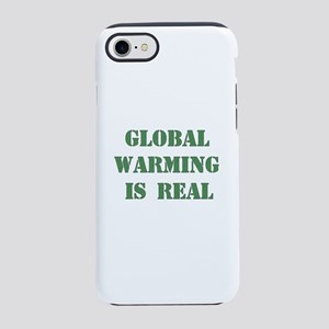 Global Warming Is Real iPhone 8/7 Tough Case